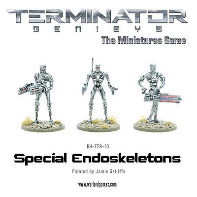 Einfach und sicher online bestellen: Terminator Genisys: Special Endoskeletons in Österreich kaufen.