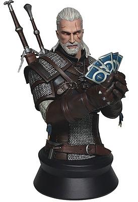 Einfach und sicher online bestellen: The Witcher 3 Büste Gerald Playing Gwent in Österreich kaufen.