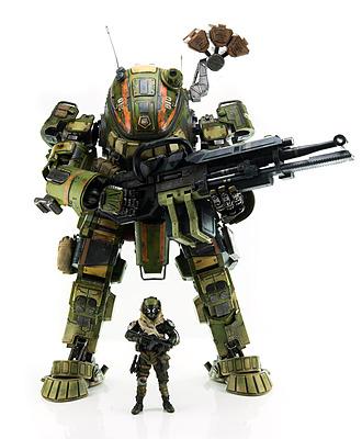 Einfach und sicher online bestellen: Titanfall Actionfigur M-COR Ogre in Österreich kaufen.