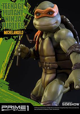 Einfach und sicher online bestellen: Teenage Mutant Ninja Turtles Statue Michelangelo in Österreich kaufen.