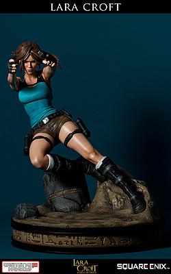 Einfach und sicher online bestellen: Tomb Raider Tempel des Osiris Statue Lara Croft in Österreich kaufen.