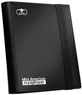 Einfach und sicher online bestellen: Ultra Guard Mini American FlexX Folio Binder Black in Österreich kaufen.