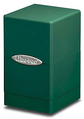 Einfach und sicher online bestellen: Ultra Pro Green Satin Tower Deckbox in Österreich kaufen.