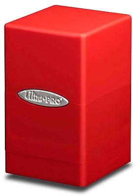 Einfach und sicher online bestellen: Ultra Pro Red Satin Tower Deckbox in Österreich kaufen.