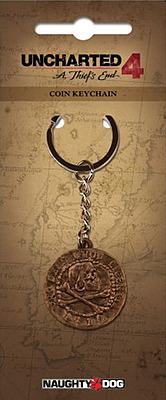 Einfach und sicher online bestellen: Uncharted 4 Schlüsselanhänger Pirate Coin in Österreich kaufen.
