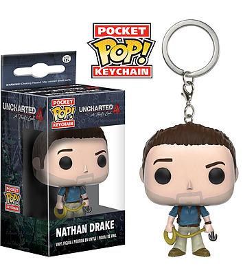 Einfach und sicher online bestellen: Uncharted 4 POP! Schlüsselanhänger Nathan Drake in Österreich kaufen.