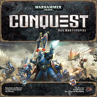 Einfach und sicher online bestellen: Warhammer 40.000: Conquest Kartenspiel in Österreich kaufen.