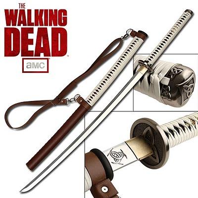 Einfach und sicher online bestellen: The Walking Dead Replik 1/1 Michonne Katana 105 cm in Österreich kaufen.