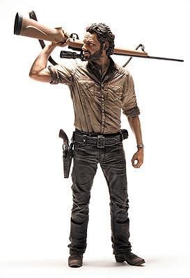 Einfach und sicher online bestellen: The Walking Dead Deluxe Actionfigur Rick Grimes in Österreich kaufen.