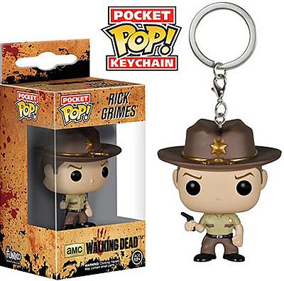 Einfach und sicher online bestellen: The Walking Dead Schlüsselanhänger Rick Grimes in Österreich kaufen.