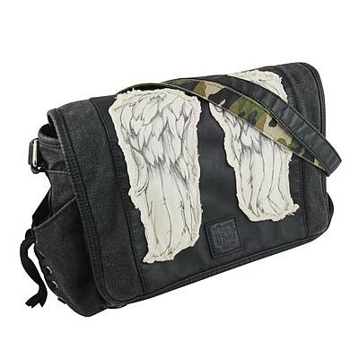 Einfach und sicher online bestellen: The Walking Dead Mini-Umhängetasche Daryls Wings in Österreich kaufen.