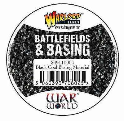 Einfach und sicher online bestellen: Warlord Tools Black Coal Basing Material in Österreich kaufen.