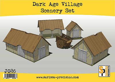 Einfach und sicher online bestellen: Dark Age Village Scenery Set in Österreich kaufen.