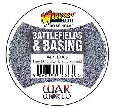 Einfach und sicher online bestellen: Warlord Tools Fine Dark Grey Basing Material in Österreich kaufen.