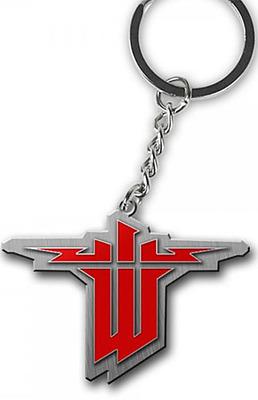 Einfach und sicher online bestellen: Wolfenstein The New Order Keychain Logo in Österreich kaufen.