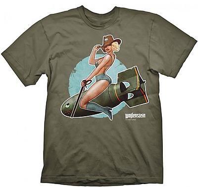 Einfach und sicher online bestellen: Wolfenstein The New Order T-Shirt Pinup L in Österreich kaufen.