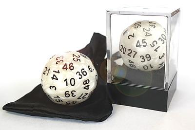 Einfach und sicher online bestellen: Dice-Up D50 in Acrylbox + Satinbag perlmut in Österreich kaufen.