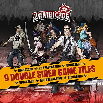 Einfach und sicher online bestellen: Zombicide - Season 1 Game Tiles in Österreich kaufen.