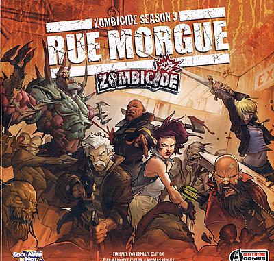 Einfach und sicher online bestellen: Zombicide - Season 3 Rue Morgue in Österreich kaufen.