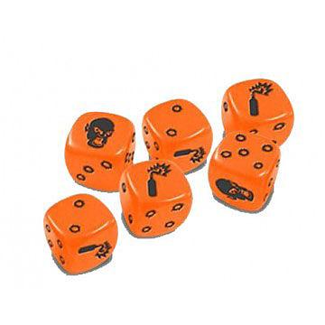 Einfach und sicher online bestellen: Zombicide - Orange Special Dice in Österreich kaufen.