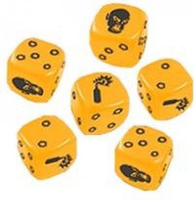 Einfach und sicher online bestellen: Zombicide - Yellow Special Dice in Österreich kaufen.