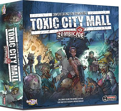 Einfach und sicher online bestellen: Zombicide - Season 1 Toxic City Mall Erweiterung in Österreich kaufen.