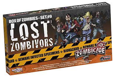 Einfach und sicher online bestellen: Zombicide - Lost Zombivors in Österreich kaufen.