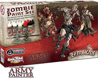 Einfach und sicher online bestellen: Zombicide - Black Plague Paint Set in Österreich kaufen.