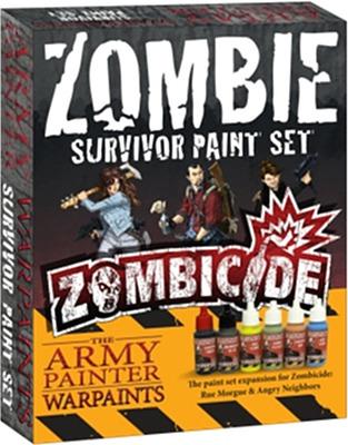 Einfach und sicher online bestellen: Zombicide - Survivor Paint Set in Österreich kaufen.