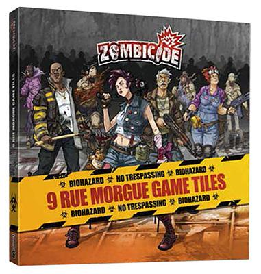 Einfach und sicher online bestellen: Zombicide - Game Tiles Season 3 (Rue Morgue) in Österreich kaufen.