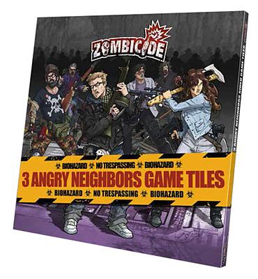 Einfach und sicher online bestellen: Zombicide - Angry Neighbors Game Tiles in Österreich kaufen.
