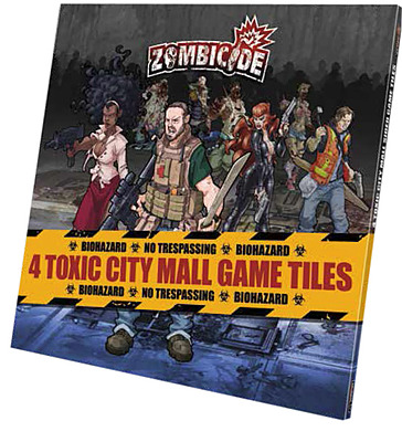 Einfach und sicher online bestellen: Zombicide - Toxic City Mall Game Tiles in Österreich kaufen.