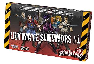 Einfach und sicher online bestellen: Zombicide - Ultimate Surviors 1 in Österreich kaufen.