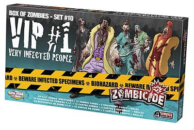 Einfach und sicher online bestellen: Zombicide - VIP 1 Very Infected People in Österreich kaufen.