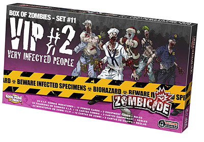 Einfach und sicher online bestellen: Zombicide - VIP 2 Very Infected People in Österreich kaufen.