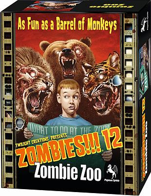 Einfach und sicher online bestellen: Zombies!!! 12: Zombie Zoo in Österreich kaufen.