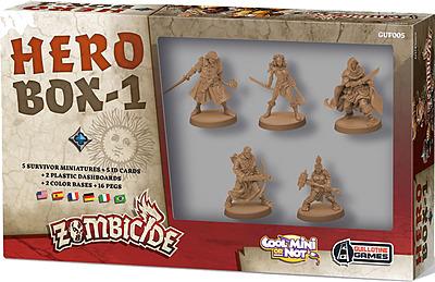 Einfach und sicher online bestellen: Zombicide - Black Plague Hero Box 1 in Österreich kaufen.
