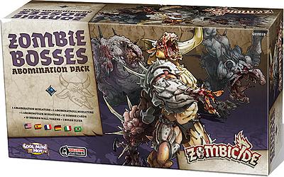Einfach und sicher online bestellen: Zombicide - Black Plague Zombie Bosses in Österreich kaufen.