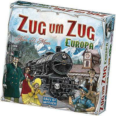 Einfach und sicher online bestellen: Zug um Zug Europa in Österreich kaufen.