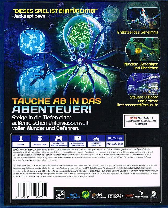 Subnautica Karte Deutsch.Subnautica Gameware At