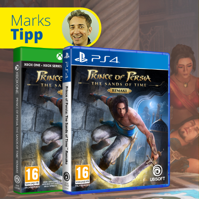 Prince of Persia: The Sands of Time für PS4 und Xbox bei gameware kaufen!