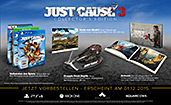Just Cause 3 Collectors Edition PEGI AT-Version Inhalte