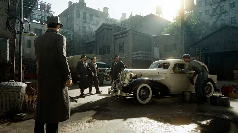Mafia Definitive Edition (PS4, Xbox) - Du hast da was vergessen.