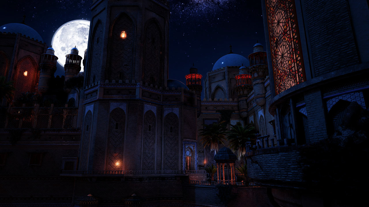 Prince of Persia: The Sands of Time (PS,Xbox) - #atnight