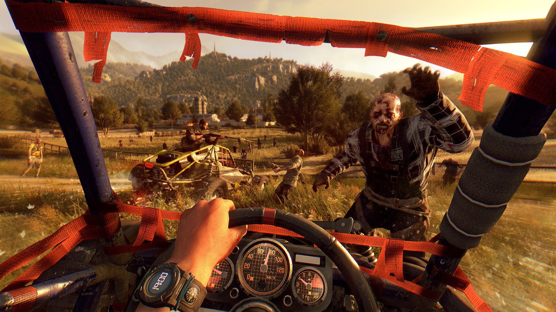Dying Light The Following Enhanced Edition(PS4, Xbox, PC) - Einmal Gas geben!