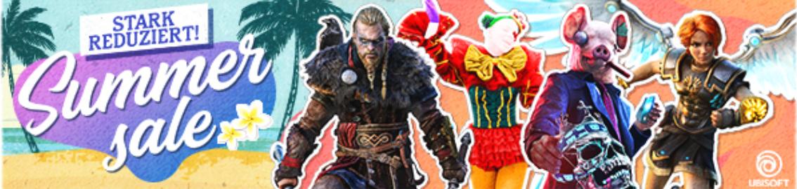 Ubisoft Summer Sale von 25. Juni bis 27. Juli 2018
