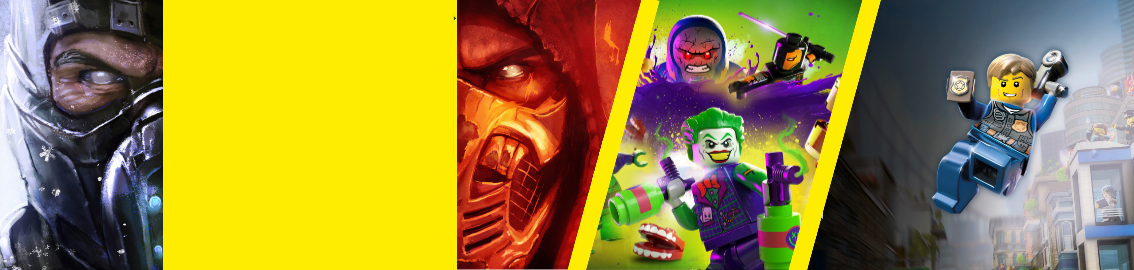 Warner Gaming Week von 06. April bis zum 11. April 2021