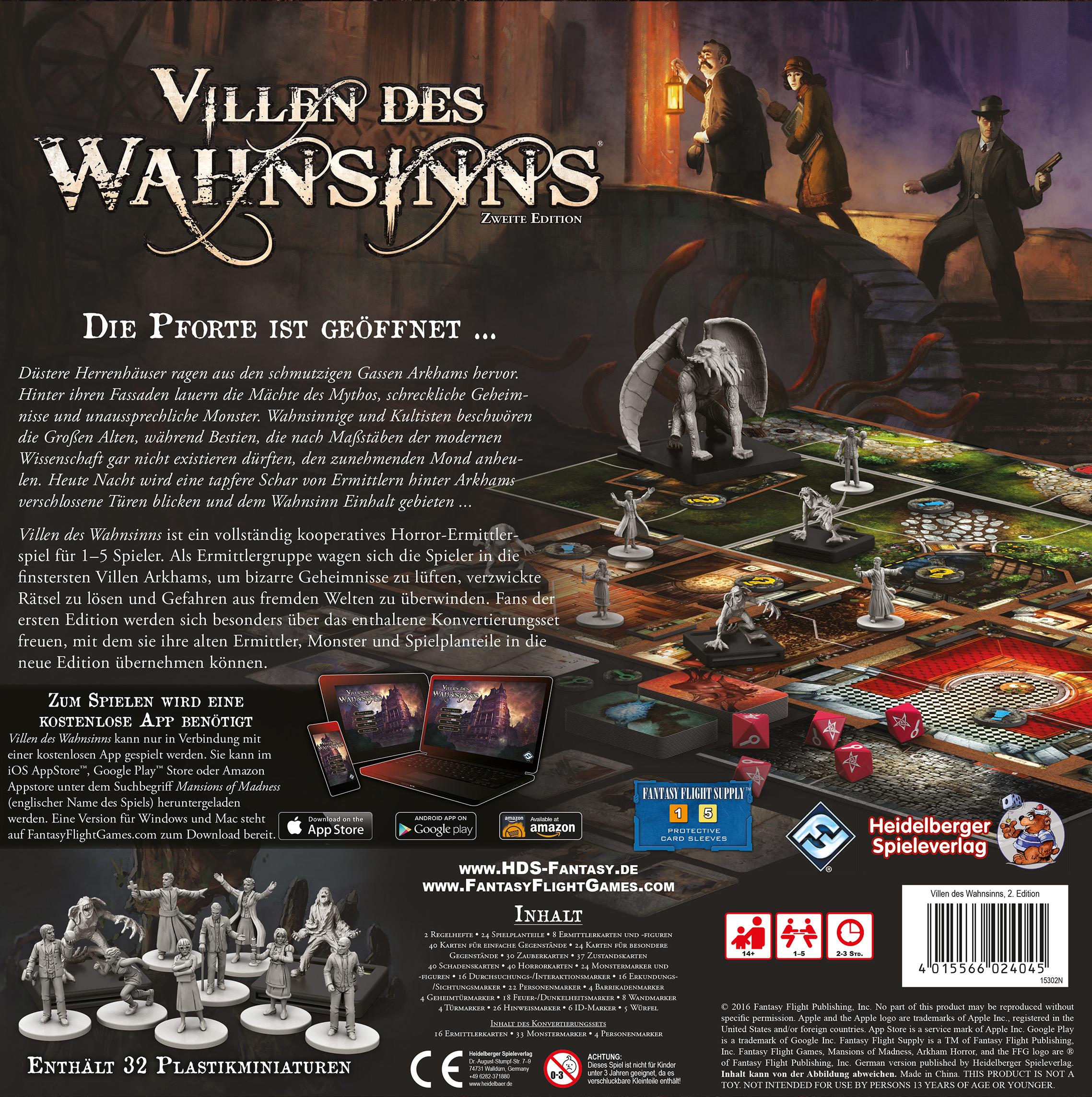 2 Edition Villen des Wahnsinns