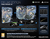 Final Fantasy XV Deluxe Edition Inhalte