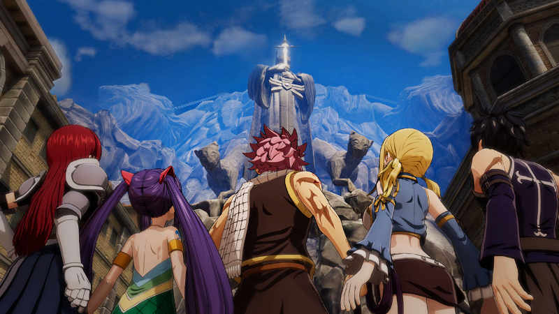 Fairy Tail (PS4, Switch) - Wow, da willst du hoch?